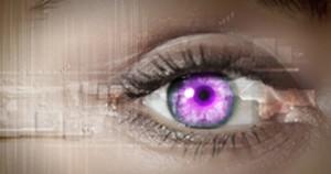 lila-kontaktlinsen